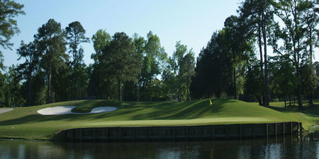 Overview of golf course named Cedar Point Country Club