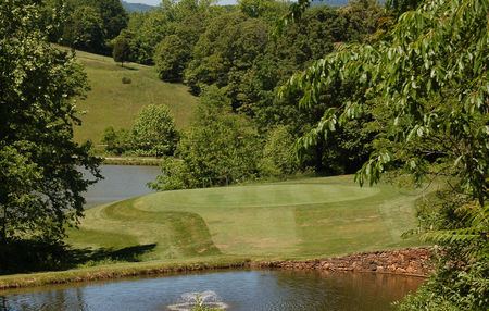 Overview of golf course named Colonial Heritage Club