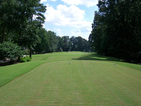 Overview of golf course named Greenbrier Country Club