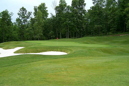 Overview of golf course named Lakeview Golf Club