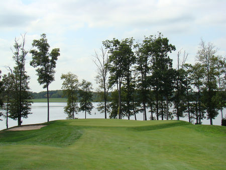 Overview of golf course named Virginia Oaks Golf Club