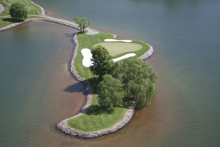 Overview of golf course named Water's Edge Country Club, The