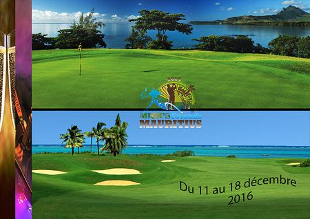 Hosting golf course for the event: Mck's Friends Mauritius Pro-Am 2016