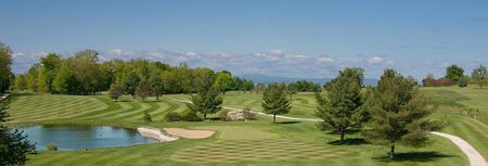 Overview of golf course named Champlain Country Club
