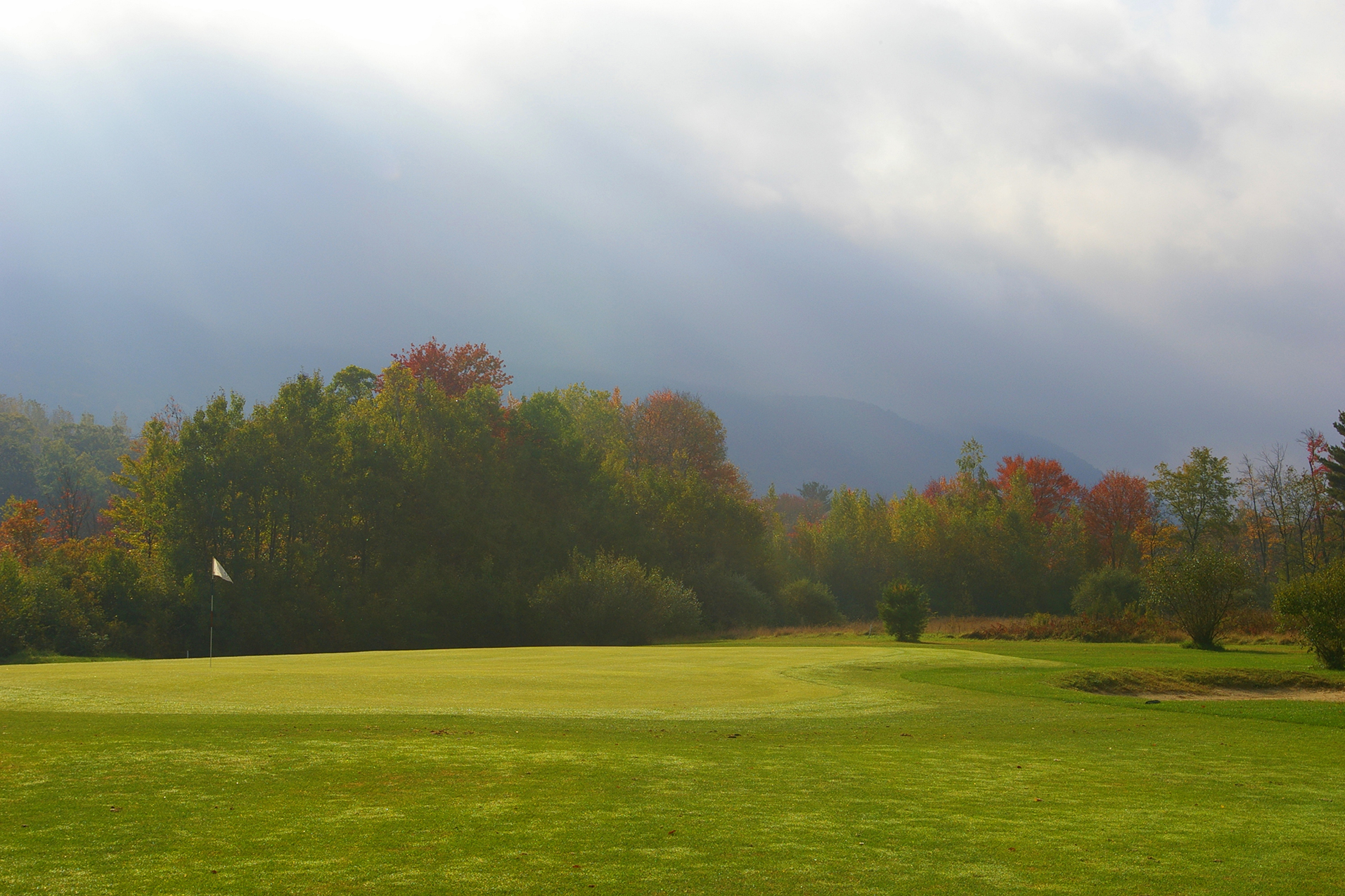 Overview of golf course named Canaan Country Club