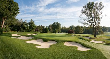 Overview of golf course named Country Club of Darien