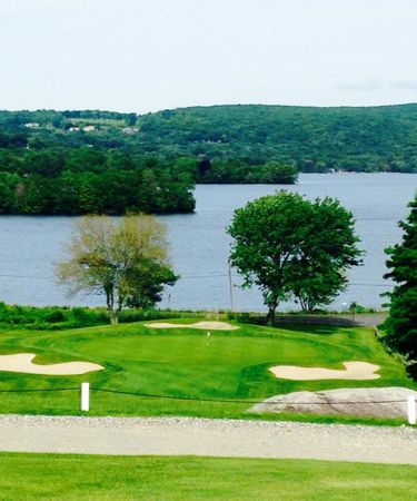 Overview of golf course named Lake Waramaug Country Club