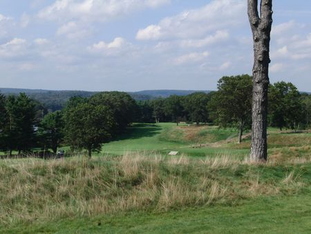 Overview of golf course named New Haven Country Club