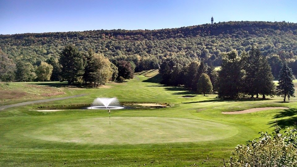 Overview of golf course named Tower Ridge Country Club