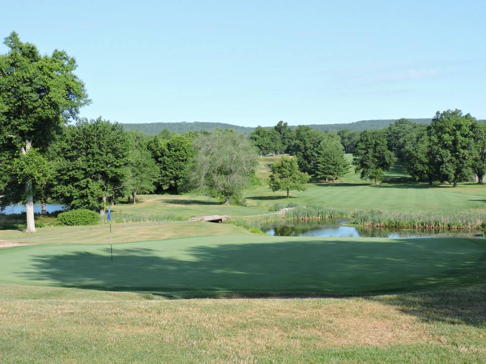 Overview of golf course named Wampanoag Country Club