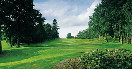 Overview of golf course named Woodbridge Country Club