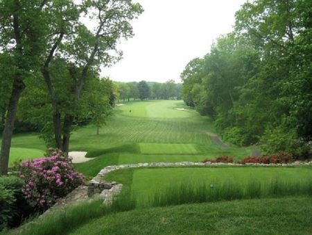 Overview of golf course named Woodway Country Club