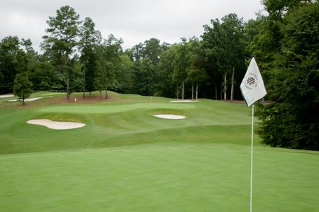Overview of golf course named Idle Hour Golf and Country Club
