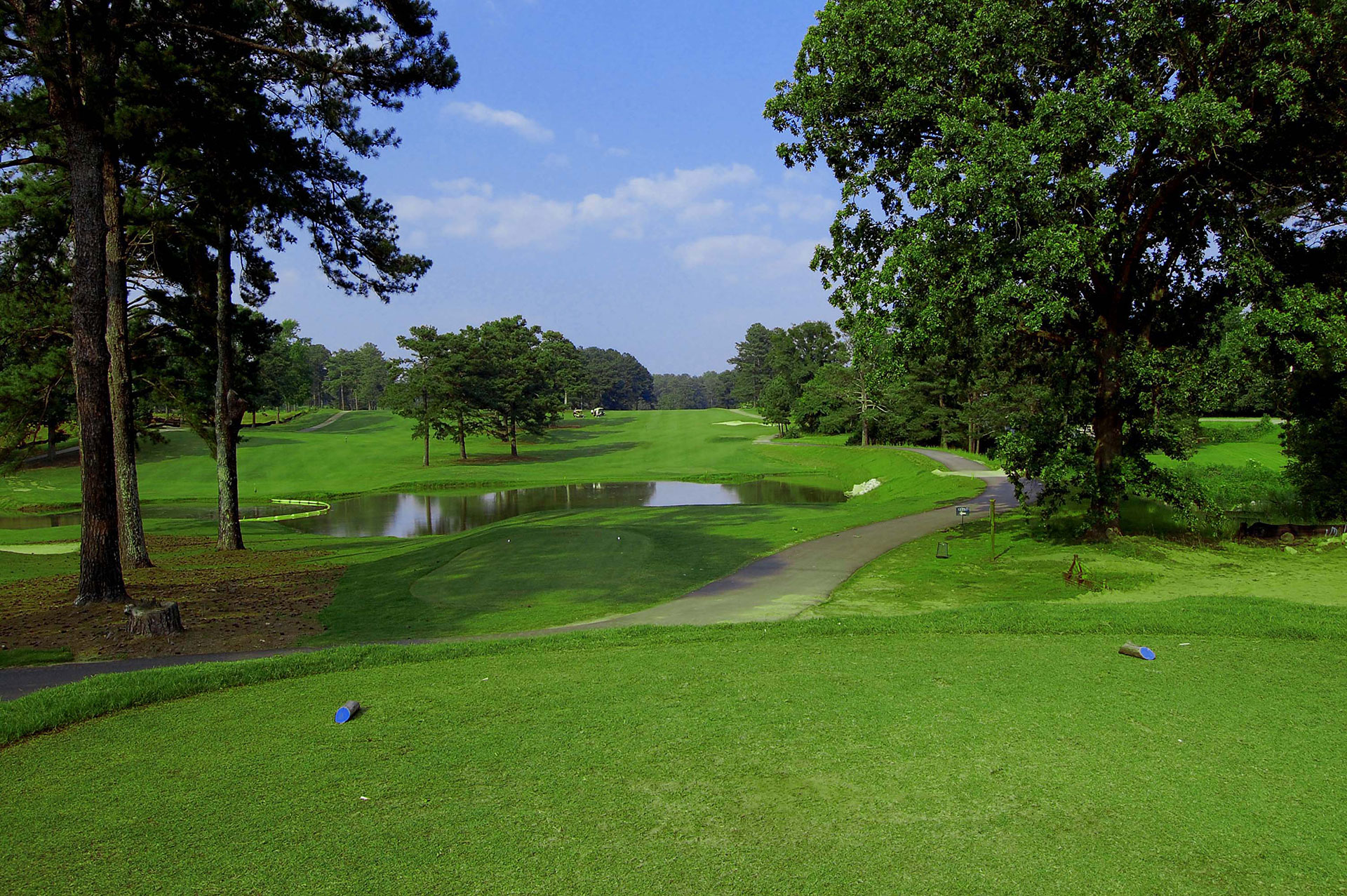 Overview of golf course named Lake Spivey Golf Club