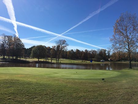 Overview of golf course named Canongate on White Oak