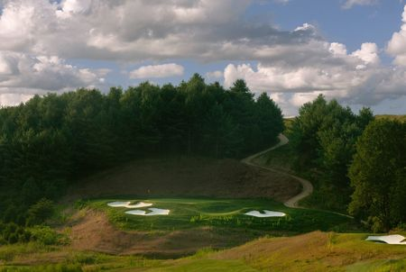 Overview of golf course named Cateechee Golf Club