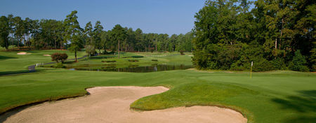Overview of golf course named Forest Heights Country Club