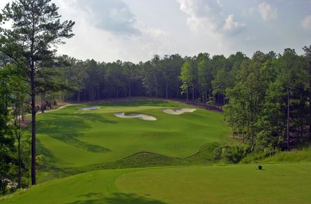 Overview of golf course named Governor's Towne Club