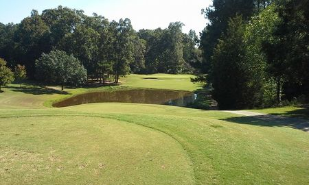 Overview of golf course named Hickory Hill Golf Course