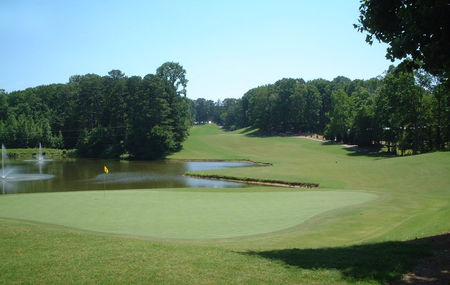 Overview of golf course named Lanier Golf Club