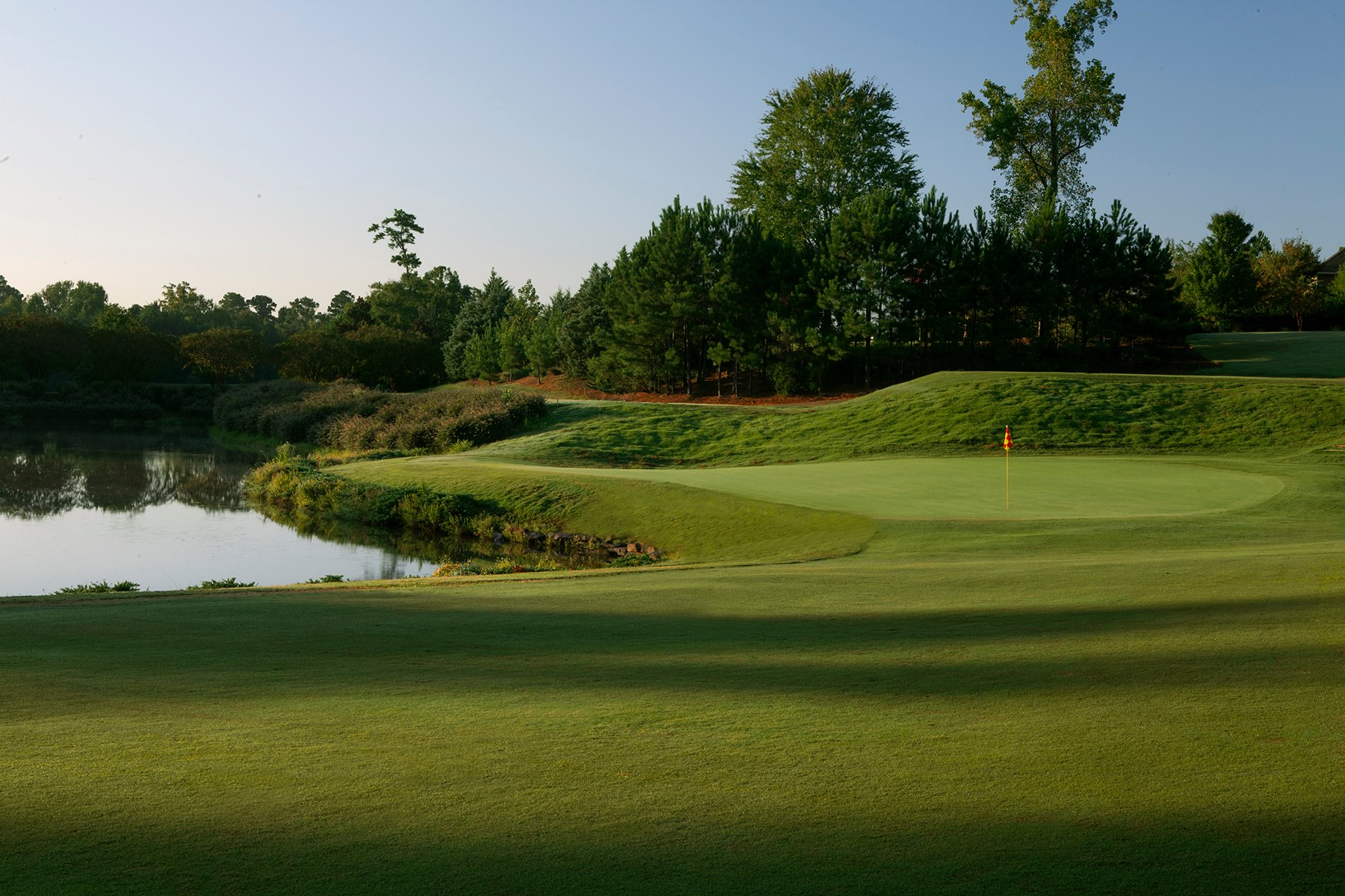 Overview of golf course named Maple Ridge Golf Club
