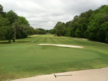 Overview of golf course named Okefenokee Country Club