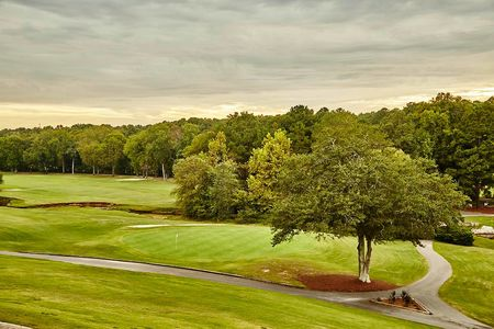 Overview of golf course named Old Mill/Graveyard at Flat Creek Golf Club