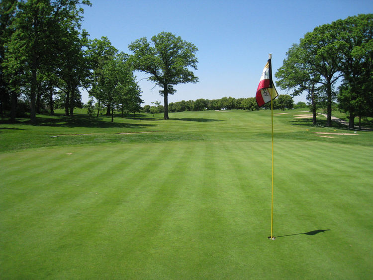 Bacon park golf course cover picture