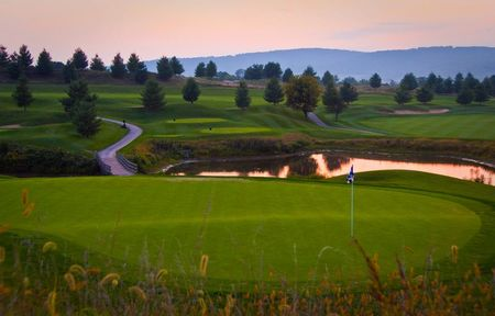 Overview of golf course named Musket Ridge Golf Club