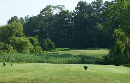 Overview of golf course named River House Golf at The Easton Club