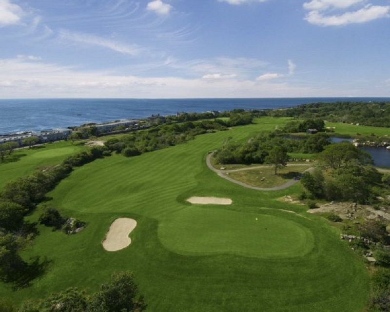 Bass rocks golf club cover picture