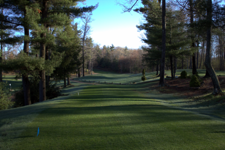 Overview of golf course named Quail Hollow CC