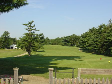 Overview of golf course named White Pines Golf Course