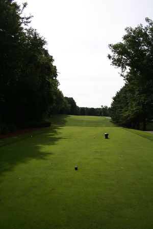 Overview of golf course named Woodland Golf Club