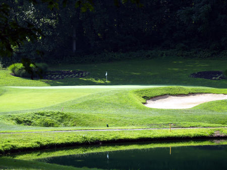 Overview of golf course named Concord Country Club