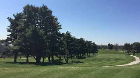Overview of golf course named Springfield Country Club