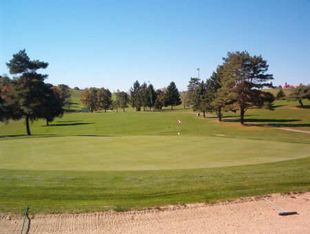 Overview of golf course named Fort Cherry Golf Club