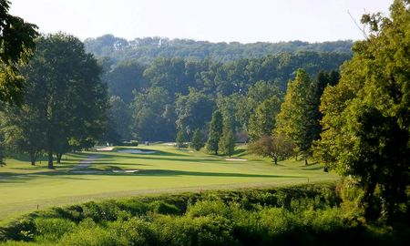 Overview of golf course named Valley Brook Country Club