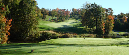 Overview of golf course named Diamond Run Golf Club
