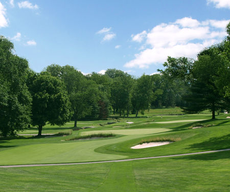 Overview of golf course named Llanerch Country Club