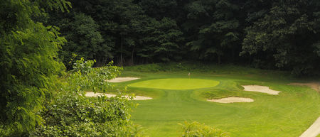 Overview of golf course named Cobb's Creek Golf Club