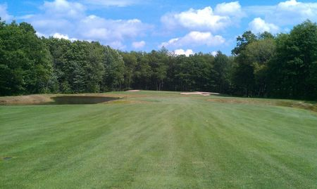 Blue knob golf club cover picture