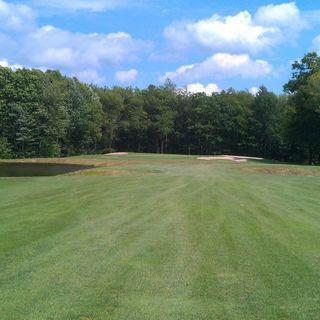 Blue knob golf club cover picture