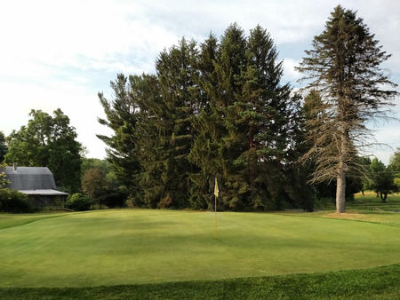 Twin oaks golf course cover picture
