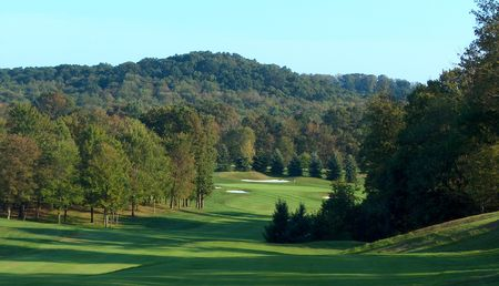 Overview of golf course named Pittsburgh National Golf Club