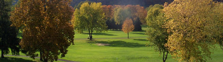 Overview of golf course named River Forest Country Club