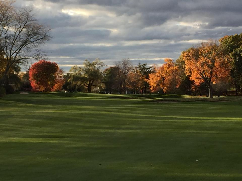 Overview of golf course named Agawam Hunt