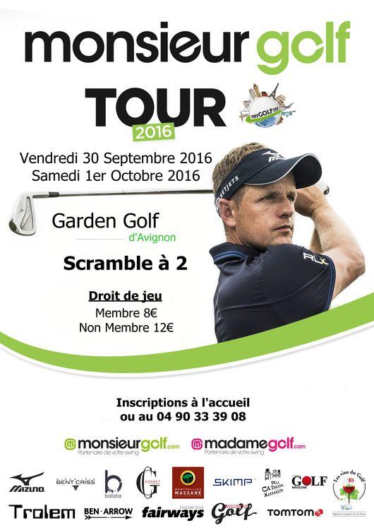 Monsieur golf tour cover picture