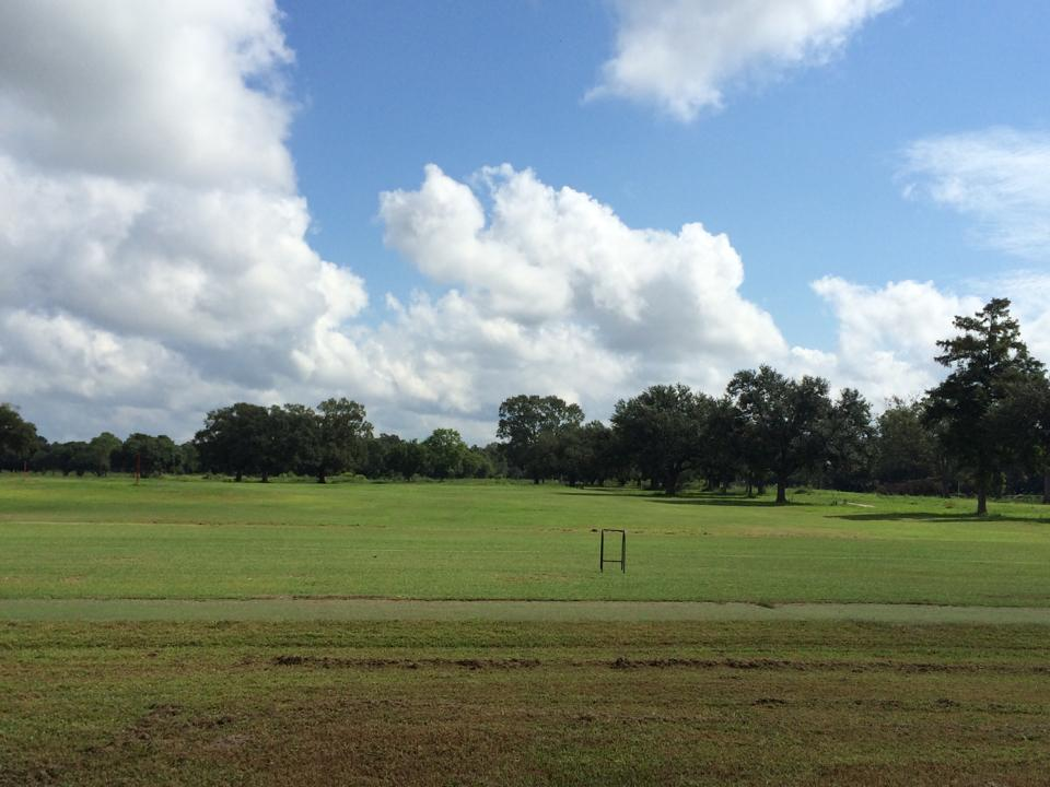 Overview of golf course named The Oaks at Sherwood