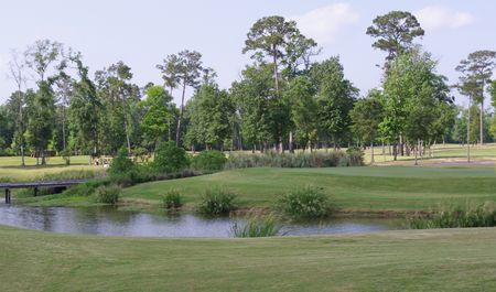 Overview of golf course named Contraband Bayou Golf Club at L'Auberge Du Lac